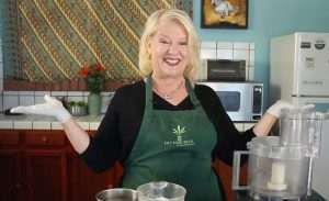 Cannabis Cheri teaches cannabis cooking