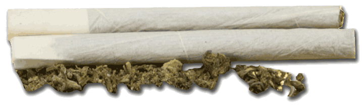 Cannabis Joint Marijuana cigarette